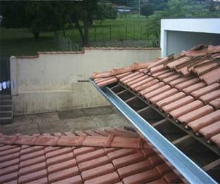 Calhas para telhado em Salvador