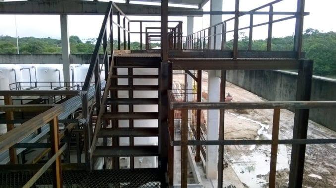 Estruturas metálicas para indústria petroquímica do Polo Petroquímico de Camaçari