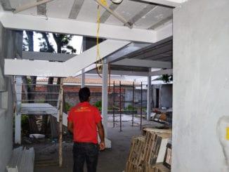 Fabricação e Montagem Casa em Aço estrutural