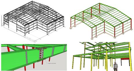 O nível de detalhamento dos nossos projetos atinge todos os elementos que compõe a estrutura.